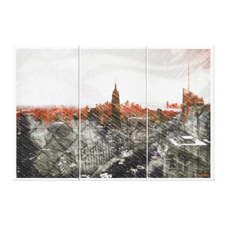 NYC_D.Grade_Able Sunset Canvas Print