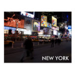 nyc del Times Square Postales