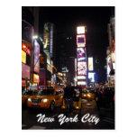 nyc del Times Square Tarjeta Postal
