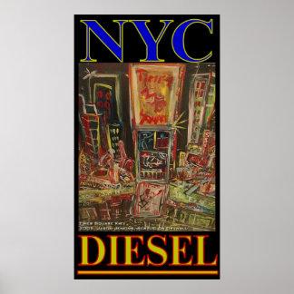 NYC DIESEL PRINT