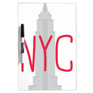 NYC DRY ERASE BOARD