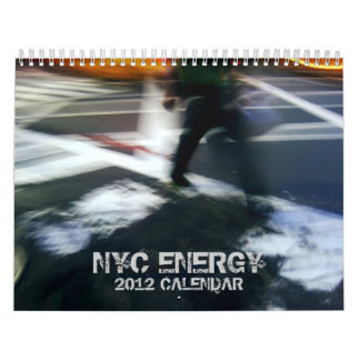 NYC Energy 2012 Wall Calendar