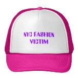 NYC FASHION VICTIM MESH HAT