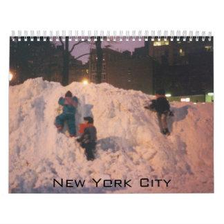 NYC fight muscular dystrophy Calendar