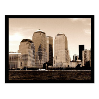 NYC Financial District Postcard