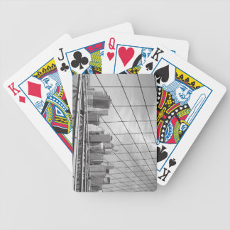 NYC Financial District Skyline Bicycle Playing Cards