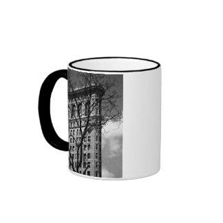 NYC Flat Iron Building Ringer Mug
