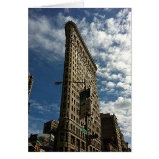 NYC Flatiron Building Card