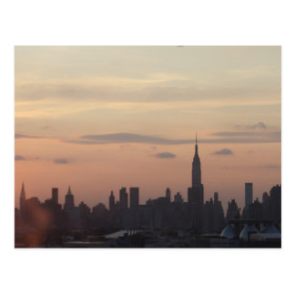 NYC from the Rooftop Postcard