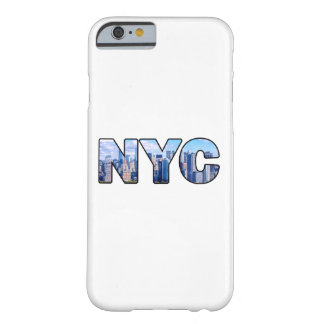 NYC FUNDA BARELY THERE iPhone 6
