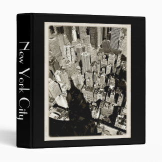 NYC Giant Shadow 3 Ring Binder