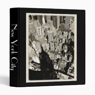 NYC Giant Shadow Vinyl Binders