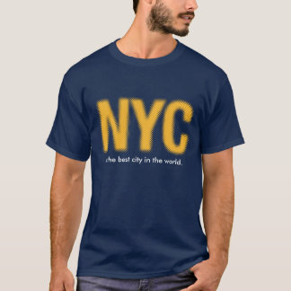 NYC_gold.ai, is the best city in the world. T-Shirt