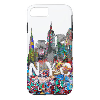NYC graffiti iPhone 7 Case