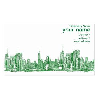 New York City Skyline Business Cards & Templates