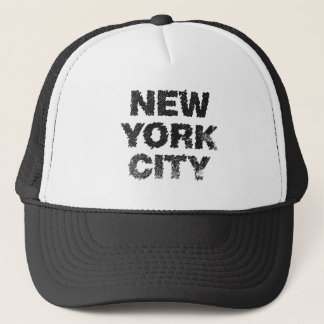 NYC-Gritty City Trucker Hat