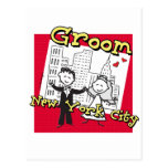NYC Groom Postcard