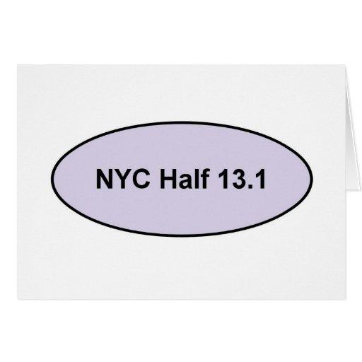 NYC Half Pride Greeting Card