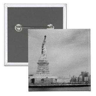 NYC hermoso Pin Cuadrada 5 Cm