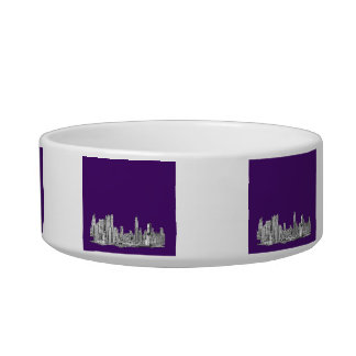 NYC in purple Bowl