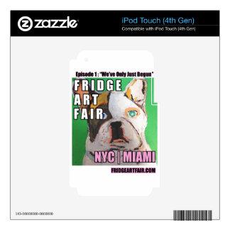 nyc justo del arte del refrigerador: episodio 1: calcomanía para iPod touch 4G