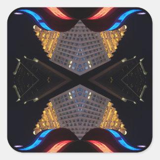 NYC Landmark 15 Design CricketDiane Designer Stuff Square Sticker