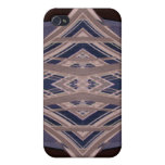 NYC Landmark Buildings Abstract Design v.2 iPhone 4/4S Case