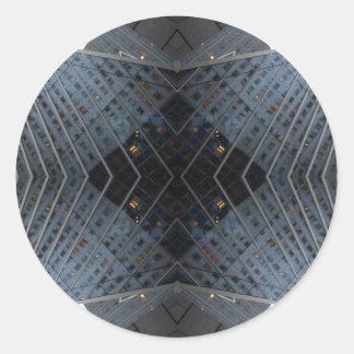 NYC Landmarks Design 15-3  CricketDiane Art Classic Round Sticker