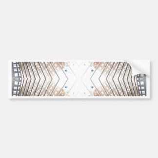 NYC Landmarks Extreme Design CricketDiane Bumper Sticker
