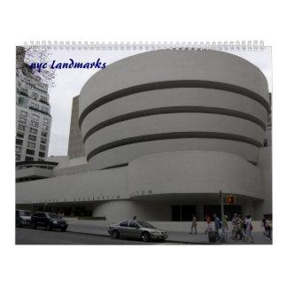 nyc landmarks calendar
