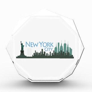 NYC LIberty Skyline award