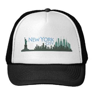 NYC Liberty Skyline Mesh Hat