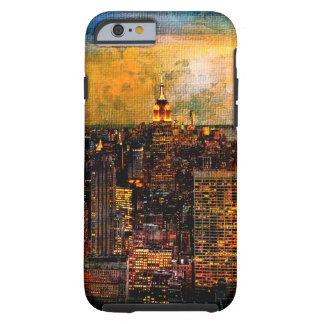 NYC Lights with Texture Tough iPhone 6 Case