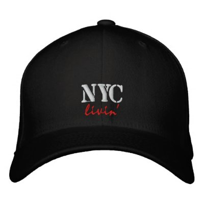 NYC livin' Embroidered Cap/Hat Embroidered Hat