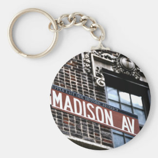 NYC Madison Ave Key Chains