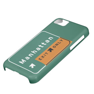 NYC Manhattan Exit Interstate Highway Freeway Road iPhone 5C Cover