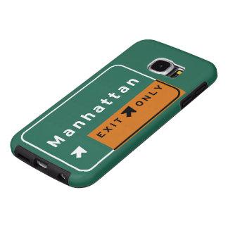 NYC Manhattan Exit Interstate Highway Freeway Road Samsung Galaxy S6 Case