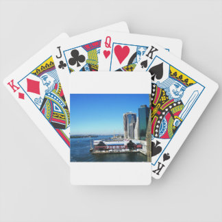 NYC Manhattan Pier Bicycle Playing Cards