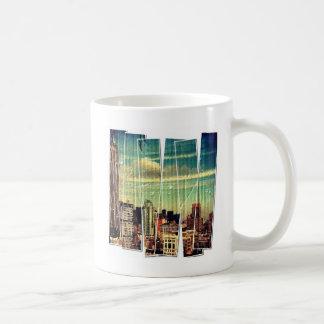 NYC Manhatten Skyline Coffee Mug