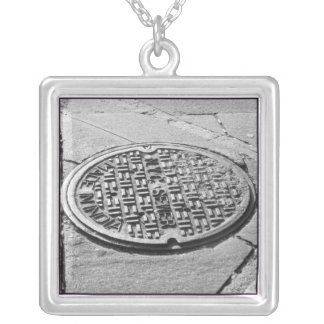 NYC Manhole Cover Necklace