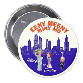 NYC Mayor Bloomberg's Dilemma Pinback Button