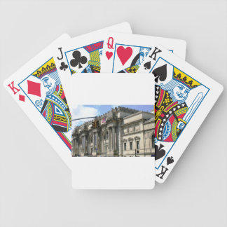 NYC Metropolitan Museum Bicycle Playing Cards