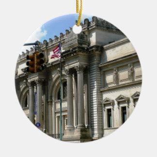 NYC Metropolitan Museum Ceramic Ornament