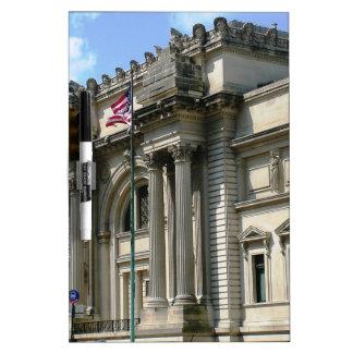 NYC Metropolitan Museum Dry Erase Board