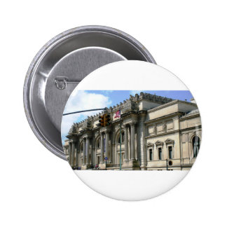NYC Metropolitan Museum Pinback Button