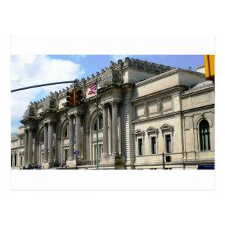 NYC Metropolitan Museum Postcard