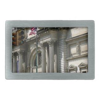NYC Metropolitan Museum Rectangular Belt Buckles
