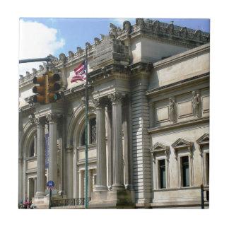 NYC Metropolitan Museum Tile