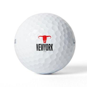 USA Themed NYC New York City by VIMAGO Golf Balls