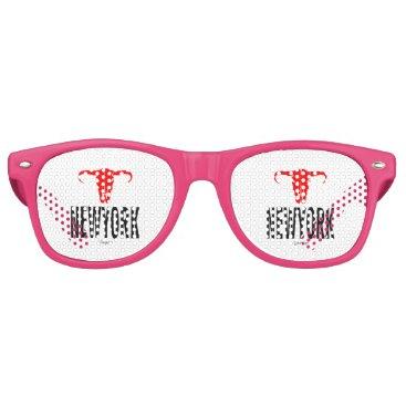 USA Themed NYC New York City by VIMAGO Retro Sunglasses